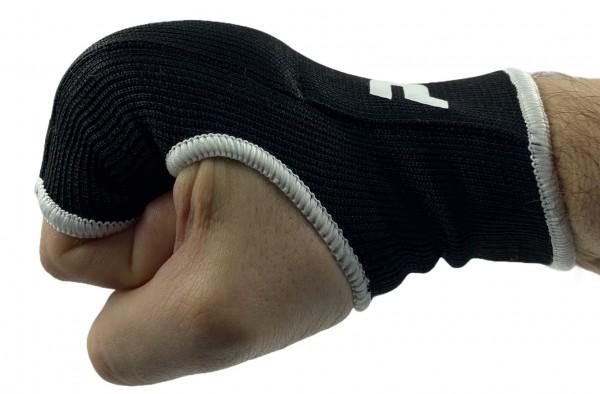 Stoff Handschoner gepolstert schwarz