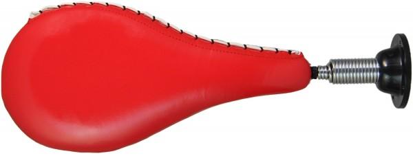 Wand-Schlagmitt Kunstleder rot
