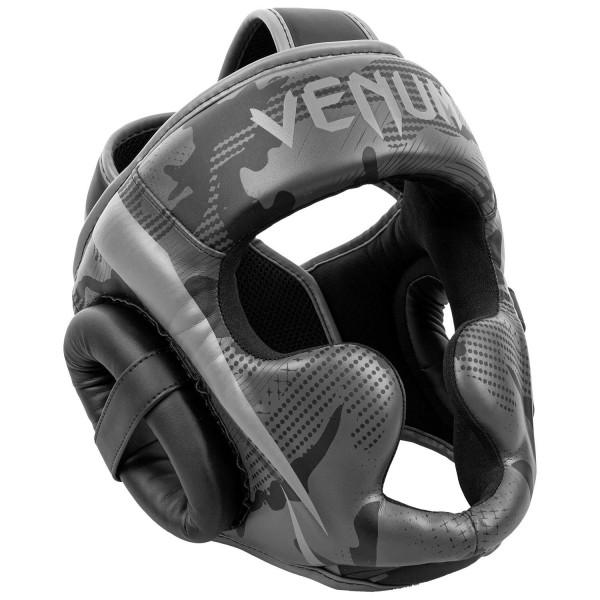 Venum Elite Kopfschutz schwarz/camo dunkel 01