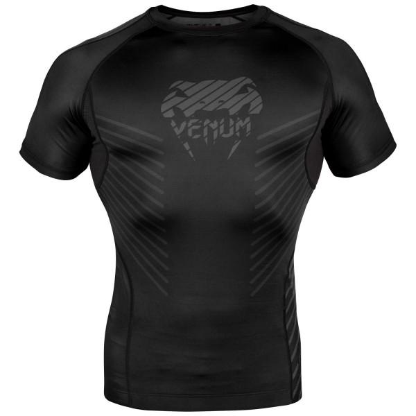 Venum xPLASMAx Rashguard Kurzarm - schwarz 01
