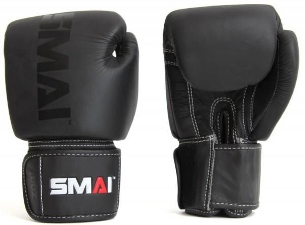 SMAI Elite P85 Boxhandschuhe Leder schwarz 01