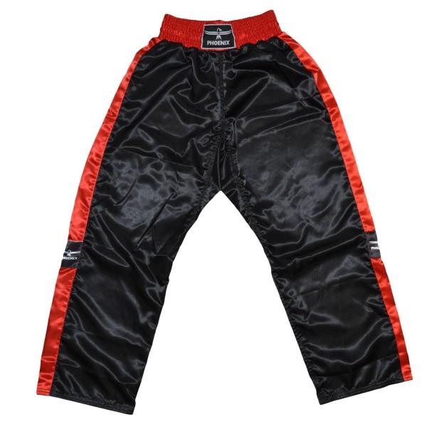 PHOENIX Kickboxhose TOPFIGHT schwarz-rot