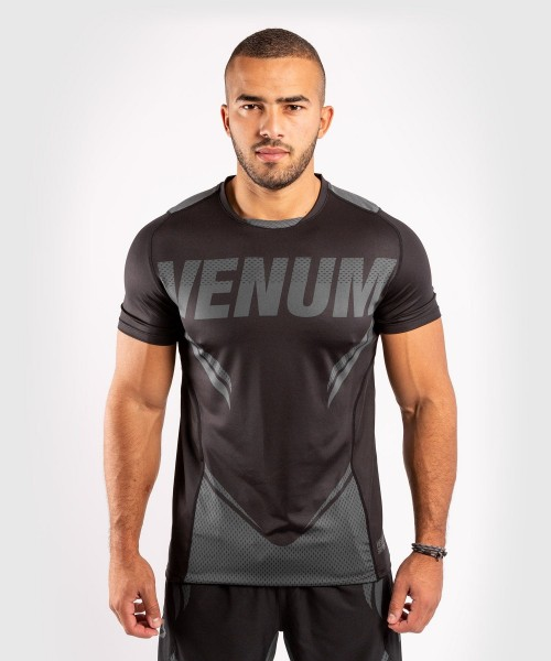 VENUM ONE FC2 Dry Tech Shirt schwarz