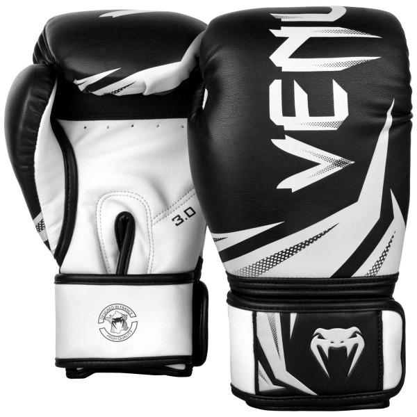 Venum Challenger 3.0 Boxhandschuhe in schwarz-weiß 01