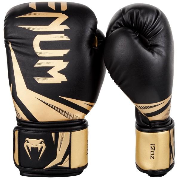 Venum Challenger 3.0 Boxhandschuhe in schwarz-gold 01