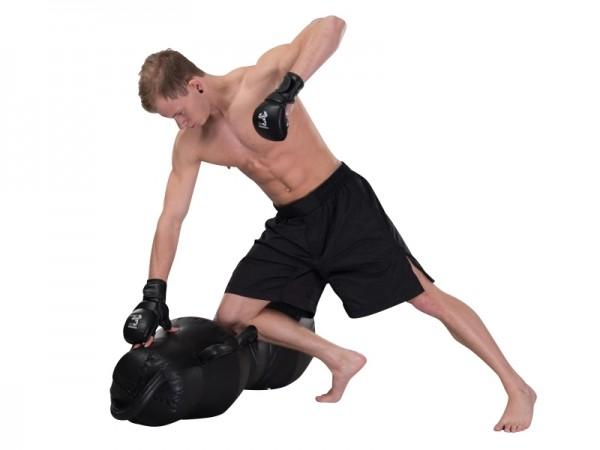 PX MMA Shorts weit schwarz