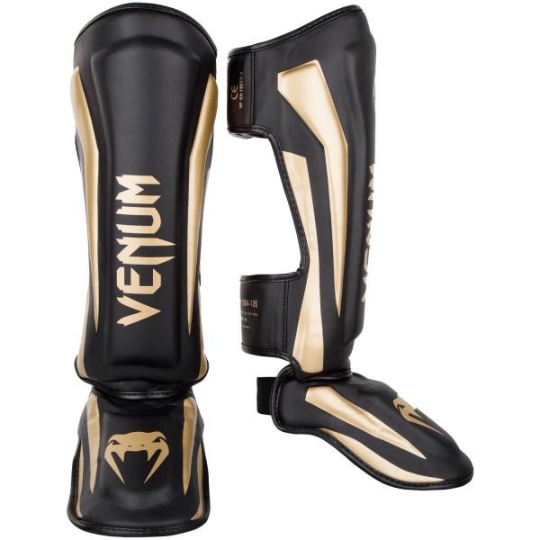 Venum Elite Standup Schienbeinschützer schwarz-gold 01