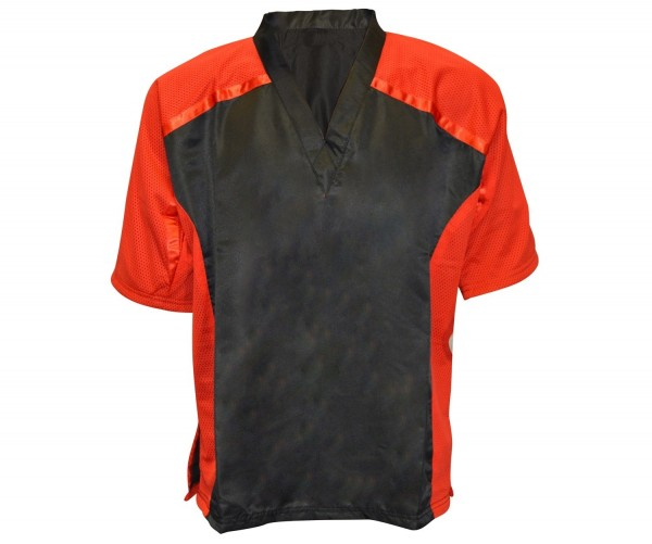 Oberteil Shirt Dynamic Mesh schwarz-rot 01