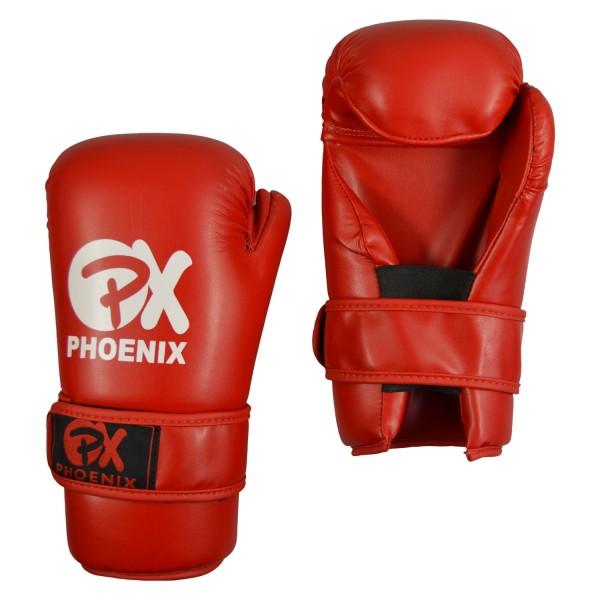 PX Pointfighting Open Hands rot Handschutz 01