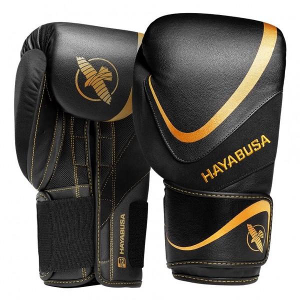 Hayabusa H5 Boxhandschuhe schwarz-gold 01