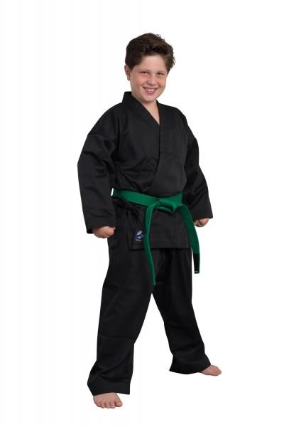 BASIC EDITION Karate Anzug schwarz 01
