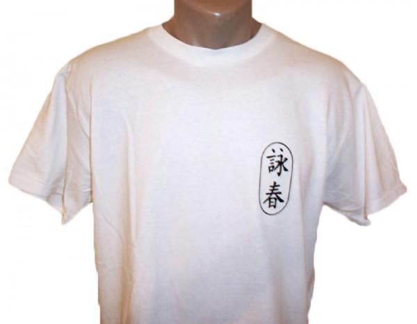 Wing Chun T-Shirt weiß