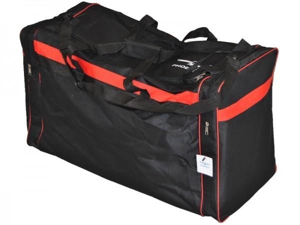 PHOENIX Sporttasche schwarz-rot 01