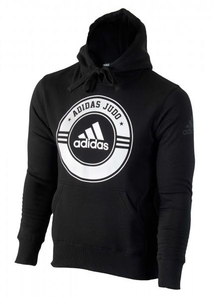 ADIDAS Hoodie Judo schwarz-weiß 01
