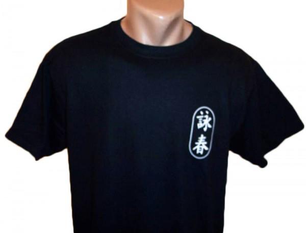Wing Chun T-Shirt schwarz