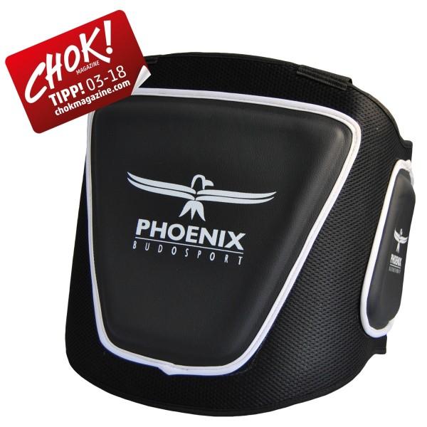 PHOENIX Bauchschutz Schultergurte (Mesh & Leder) 01