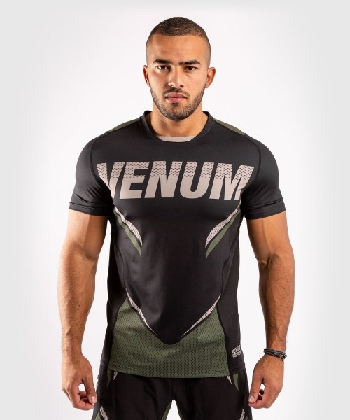 VENUM ONE FC2 Dry Tech Shirt schwarz-khaki