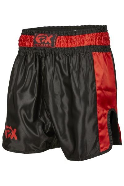 PHOENIX Thai Shorts Contender schwarz-rot 01