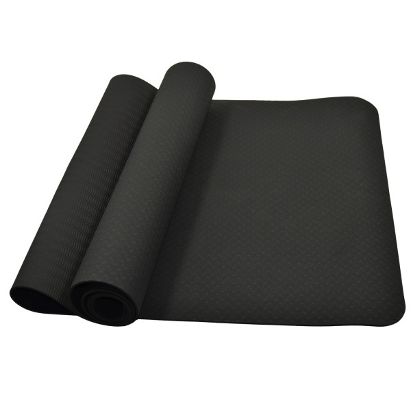 Yoga Matte schwarz 01