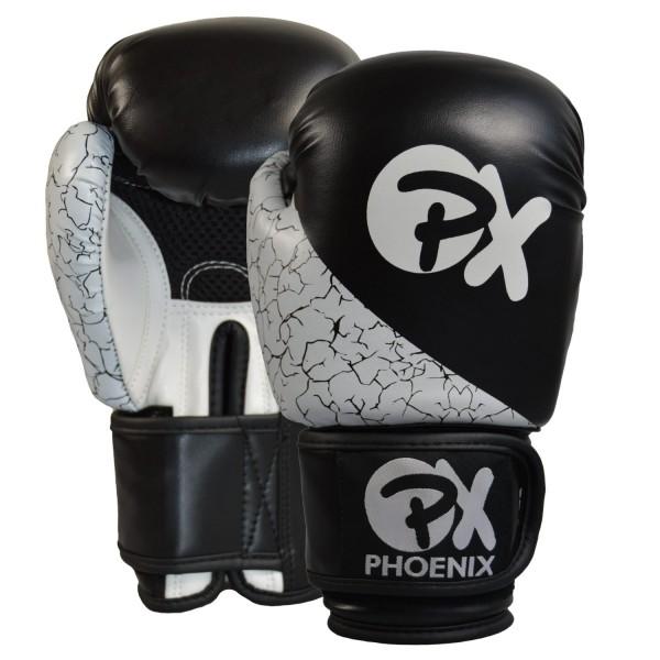 PX Boxhandschuhe STRIKE PU schwarz-weiß